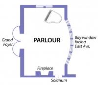 Parlour Floor Plan